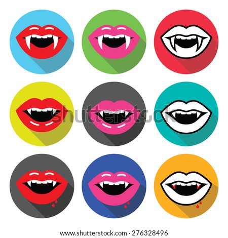 vampire mouth  vampire teeth