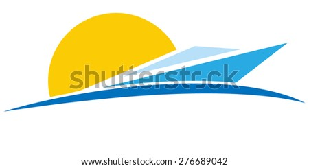 abstract ship sign