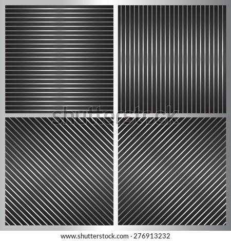 set of geometrical pattern