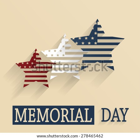 happy memorial day red  white