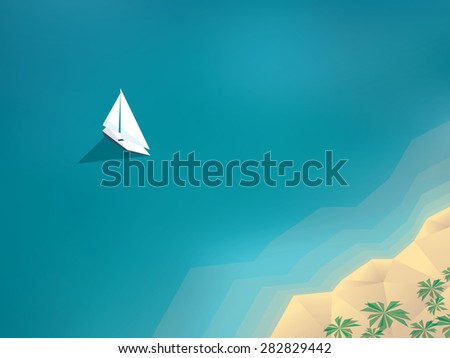 summer holiday background with