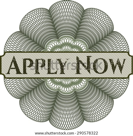 apply now abstract rosette
