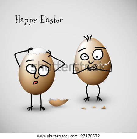 funny easter eggs   happy