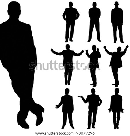 stock-vector-vector-business-man-silhouette