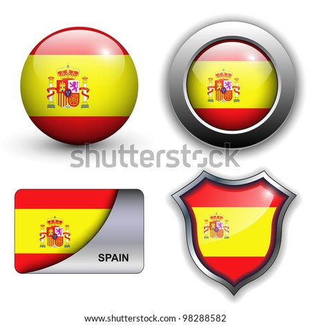 spain flag icons theme