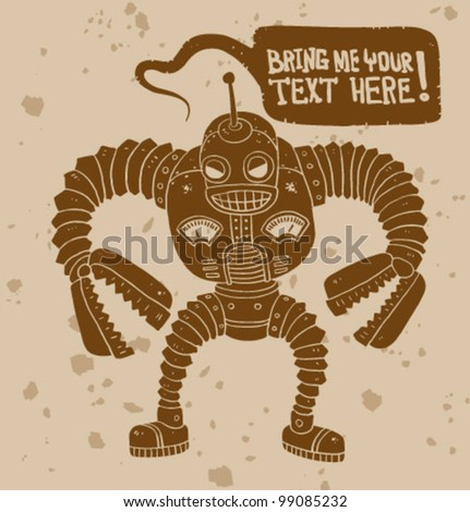 vector angry robot