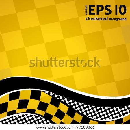 vector checkered racing