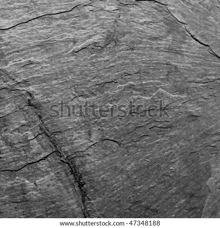 A background texture of slate - stock photo