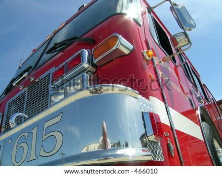 A Fire Truck - stock photo