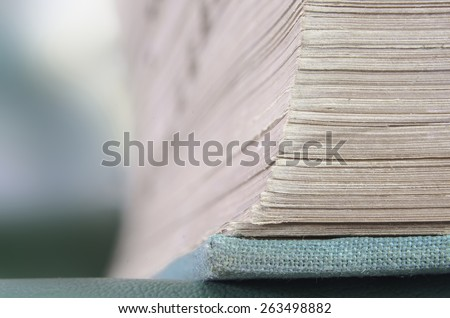 Very old thick book education reference stock photo image royalty a very old thick book for education and reference ccuart Images