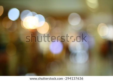 abstract blur bokeh light. Defocused background. - stock photo