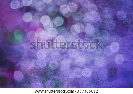 Abstract Bokeh light background texture, grunge, wallpaper