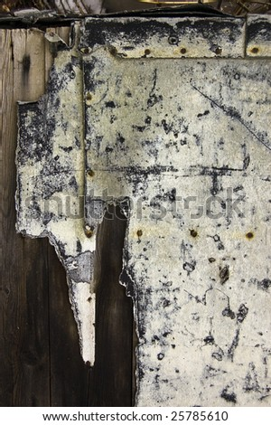 abstract grungy background  /  plank of  rough old surface