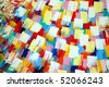 abstract psychedelic background - stock photo