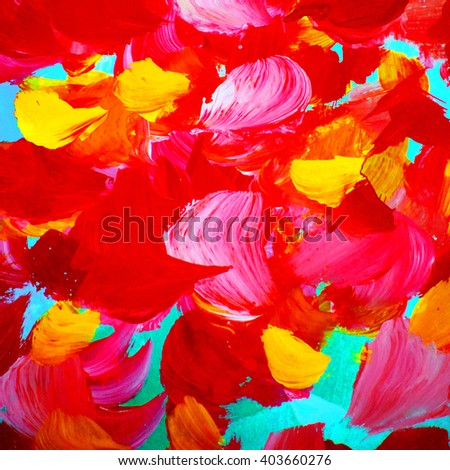abstract watercolor painting of rose petals ,pattern, template, illustration - stock photo