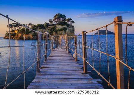 Agios Sostis - Zakynthos, Greece  - stock photo