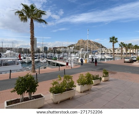 Alicante seafront stock images royalty free images vectors shutterstock - Stock uno alicante ...