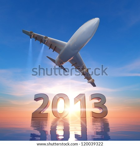 2013 and airplane