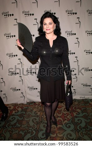 15APR2000: Actress DELTA BURKE at the Gay & Lesbian Alliance Against Defamation (GLAAD) Awards in Los Angeles.  Paul Smith/Featureflash - stock photo