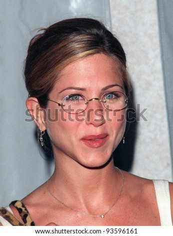 20APR98:  Friends star JENNIFER ANISTON at the 9th Annual GLAAD (Gay & Lesbian Alliance Against Defamation) Awards, in Beverly Hills. - stock photo