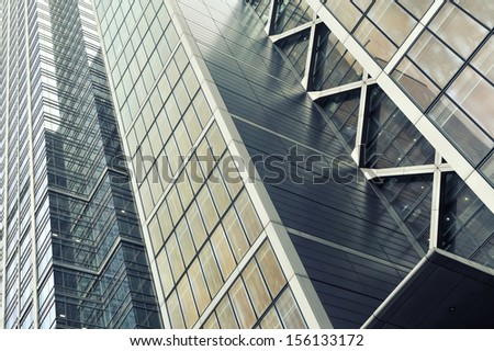 architecture fragment - stock photo