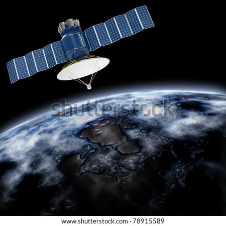 write about artificial satellites wiki