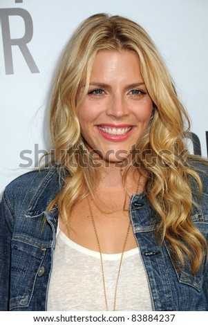 "16 August 2011 - Hollywood, California - Busy Phillips. ""Our Idiot Brother"" Los Angeles Premiere held at Arclight Cinemas. Photo Credit: Byron Purvis/AdMedia - stock photo"