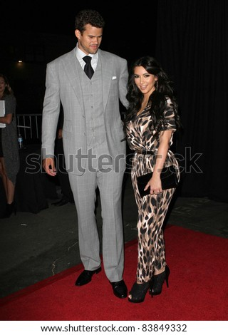 17 August 2011 - Hollywood, California - Kris Humphries and Kim Kardashian. Kardashian Kollection Launch Party Held at The Colony. Photo Credit: Kevan Brooks/AdMedia
