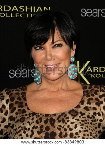 17 August 2011 - Hollywood, California - Kris Jenner. Kardashian Kollection Launch Party Held at The Colony. Photo Credit: Kevan Brooks/AdMedia