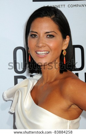 "16 August 2011 - Hollywood, California - Olivia Munn. ""Our Idiot Brother"" Los Angeles Premiere held at Arclight Cinemas. Photo Credit: Byron Purvis/AdMedia"