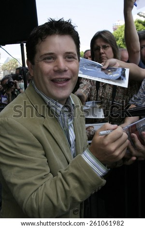 17 August 2004 - Hollywood, California - Sean Astin. Actress Patty Duke honored with the 2,260th star on the Hollywood Walk of Fame in front of the Hollywood Roosevelt Hotel.  - stock photo