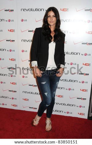 17 August 2011 - Hollywood, California - Summer Altice. Verizon / LG Revolution 4G LTE Launch Event held at The Sayers Club. Photo Credit: Byron Purvis/AdMedia