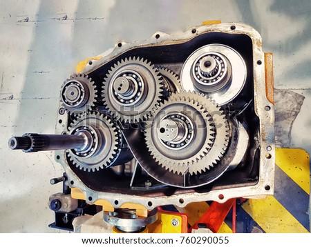 stock-photo--automotive-transmission-gea
