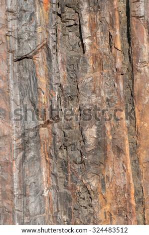 Background of iron ore - stock photo