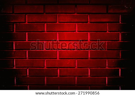 background red brick wall close up