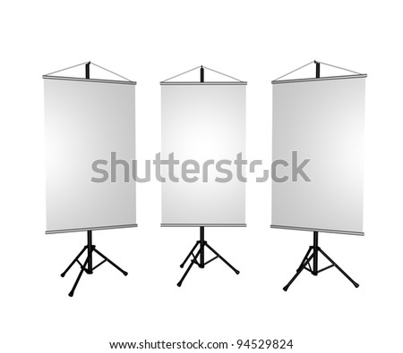 3 Banner - stock photo