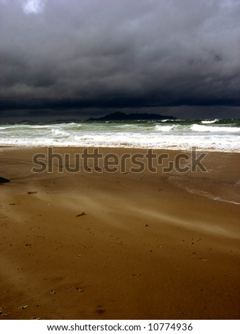 Before Storm - stock photo