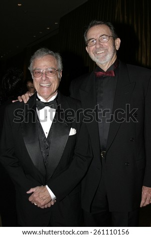 02/12/2005 - Beverly Hills - Bill Creber and Frank Capra Jr. at the 9th Annual Art Directors Guild Awards at Beverly Hilton Hotel. - stock photo