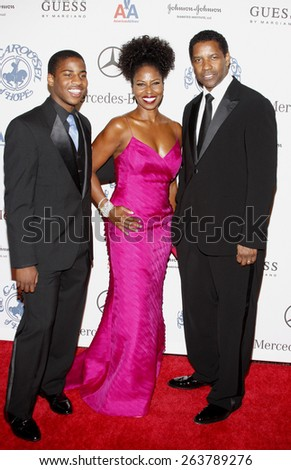 25/10/2008 - Beverly Hills - Denzel Washington at the 30th Anniversary Carousel Of Hope Ball held at the Beverly Hilton Hotel in Beverly Hills, California, United States.  - stock photo