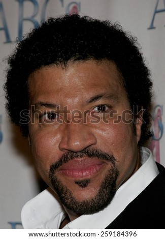 11/19/2005 - Beverly Hills - Lionel Richie at the Diamond Jubilee Spirit of Hollywood Awards at the Beverly Hilton hotel in Beverly Hills , California, United States.  - stock photo