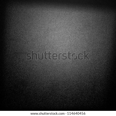 Black background with spotlight