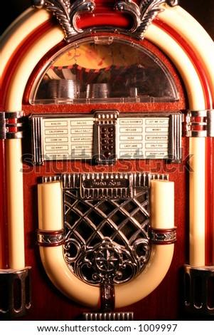 #3 black Jukebox - stock photo