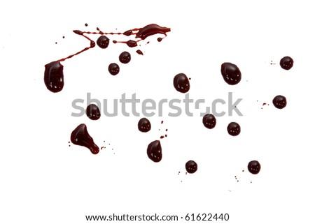 blood drops - stock photo