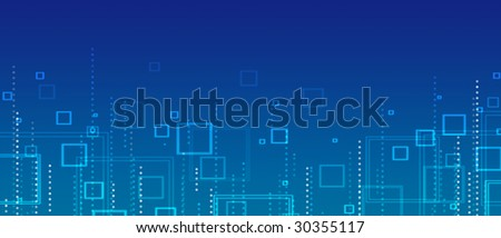 electrical wiring diagram background stock vector 96335309 blue abstract background of squares and circles
