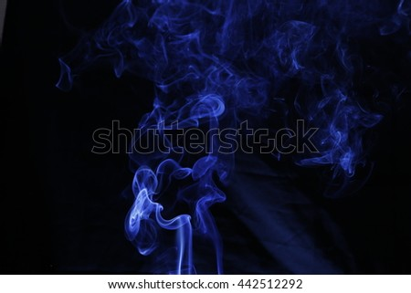 blue smoke texture background