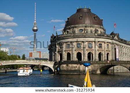 """""""Bode"""" Museum in Berlin - stock photo"""