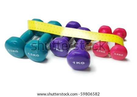 body weight control - stock photo