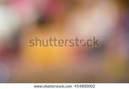bokeh - stock photo