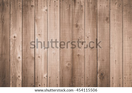 Brown natural wood wall texture and background seamless   - stock photo