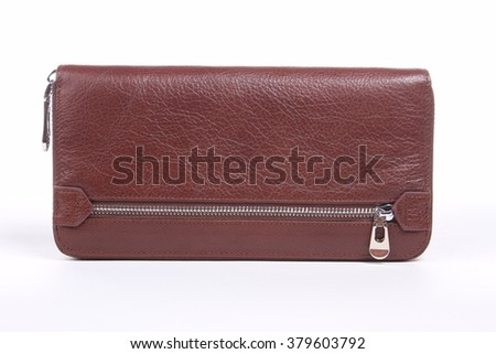 Brown  wallet for man